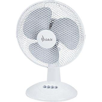 Daichi skrivebord fan dai-412 45w hvid (Home, Air-conditioning og varme, Fans)