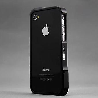 Bumper aluminio vapor Pro para iPhone 4/4s (negro)