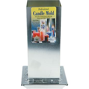 Professional Candle Mold Metal Square-2-3/4