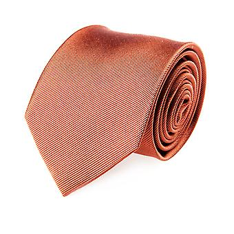 Pelo classic tie silk silk tie Orange