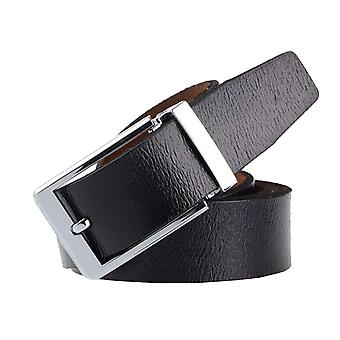 Baxter jewelry London leather belt black