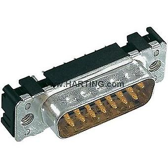 D-SUB pin strip 180 ° Number of pins: 37 Soldering Harting 09 65 461 7712 1 pc(s)
