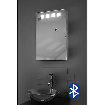 Bluetooth LED Cabinet With Demister Pad, Sensor & Shaver k257aud