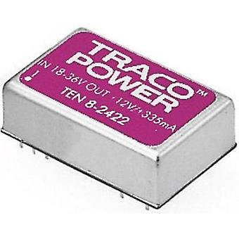 DC/DC converter (print) TracoPower TEN 8-2411 24 Vdc 5 Vdc 1.5 A 8 W No. of outputs: 1 x