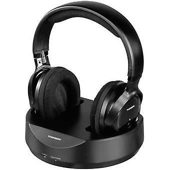 Cordless (1075099) Headphone Thomson WHP3001 Over-the-ear Volume control Black