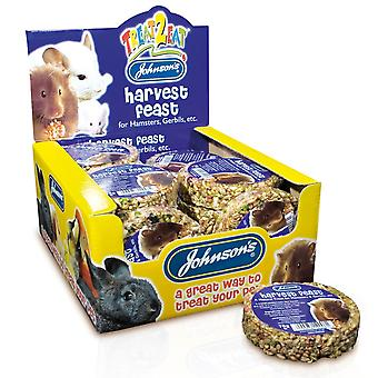 Jvp Hamster & Gerbil Harvest Feast 70g (Pack of 18)