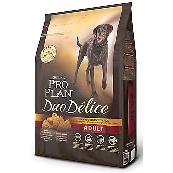 Pro Plan Dog Duo Delice Adult Chicken & Rice 2.5kg