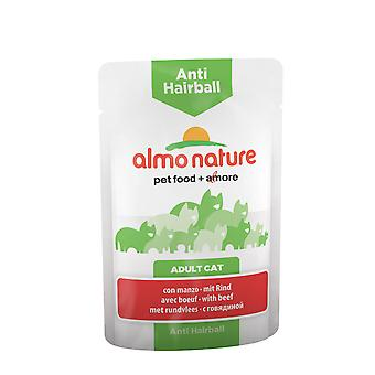 Almo Nature Anti-hairball Cat With Beef 70g (Pack of 30)