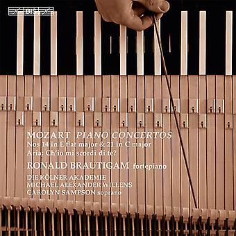 Ronald Brautigam - Concertos Pour Piano 14/21 [SACD] USA import