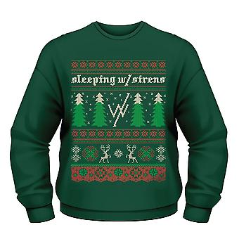 Sleeping With Sirens Christmas Tree Jumper S