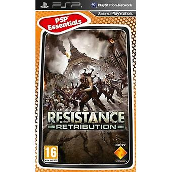 Resistance Retribution Game Essentials Edition Sony PSP Game