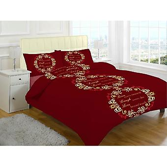 Aser amor cepillado sábanas de franela térmica algodón