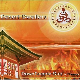 Desert beboere - ned tempel Dub: Flammer [CD] USA import