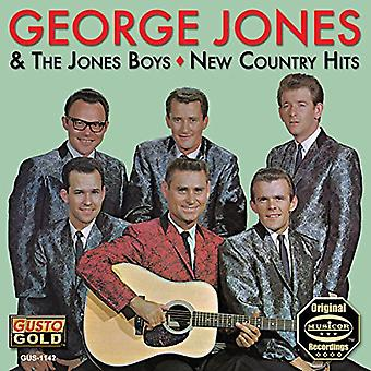 George Jones - New Country Hits [CD] USA import