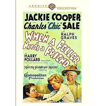 When a Feller Needs a Friend [DVD] USA import