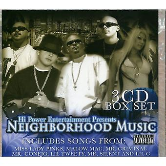 Hi Power Presents - Neighborhood Music [CD] USA import