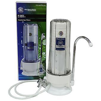 2 etape køkken Countertop Filter enkelt vandfiltrering System med vandhane