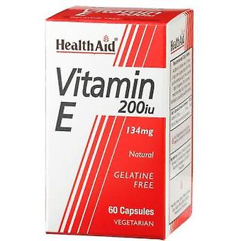 Health Aid Vit E Natural 200Ui 60Vcap. Health Aid (Dietetics and nutrition)