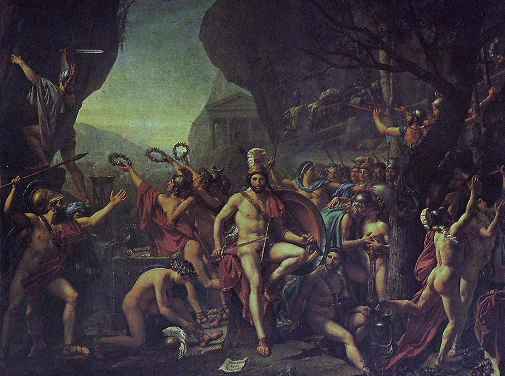 Jacques Louis David - Cave Poster Print Giclee