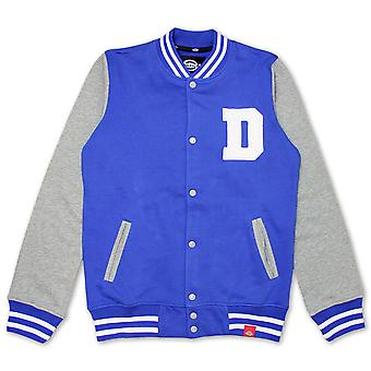 Dickies Utah Varsity Sweat Jacke Royalblau
