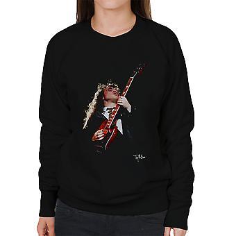 Angus Young ACDC 1988 Damen Sweatshirt