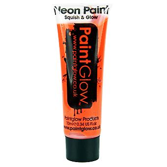 PaintGlow Face/Body Paint Uv Terracotta Brown