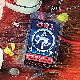 D.R.I. - Live på Ritz 1987 [CD] USA importen