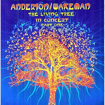 Anderson & Wakeman - levende Tree bor [CD] USA import
