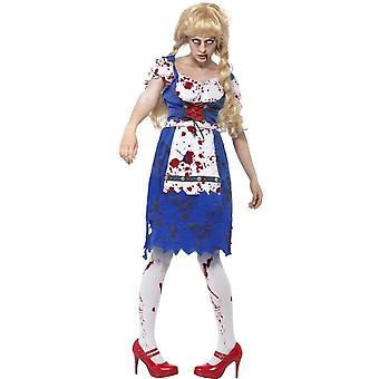Women costumes  Zombie bavarian female costume