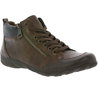 Jane Klain zip II women's lace-up boots Brown supersoft