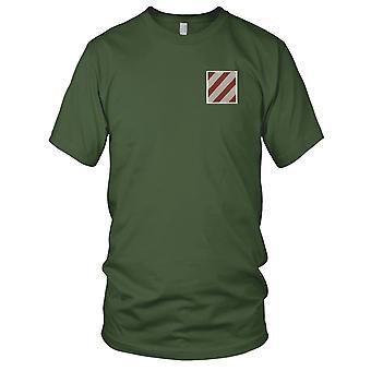 Estados Unidos Ejército infantería - 3ª División bordado parche - desierto las señoras T Shirt