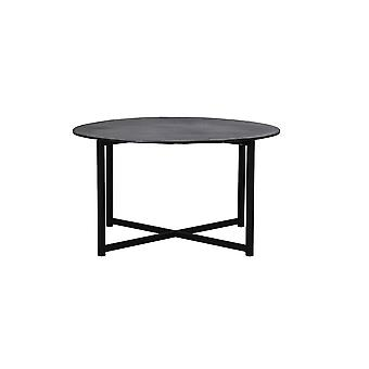 Light & Living Coffee Table Ø74x41 Cm COLLINA Matted Black+raw Bronze
