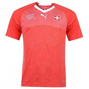 2018-2019 Switzerland Home Puma Football Shirt