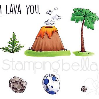 Stamping Bella Cave Kids Add Ons Cling Stamp Set- EB528