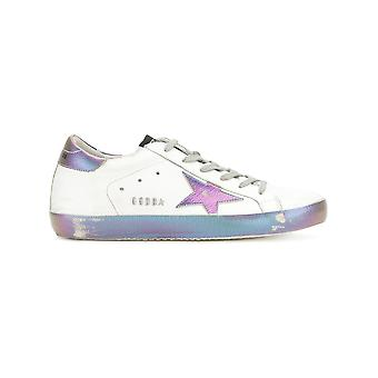 Golden Goose women's G31WS590C68 White leather of sneakers
