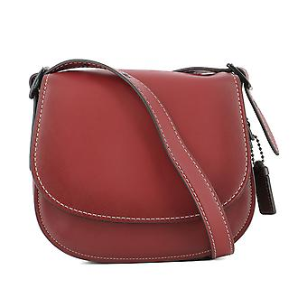 Coach women's 550361941RED red leather shoulder bag