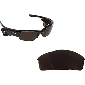 Thump Pro Replacement Lenses Bronze Brown & Blue by SEEK fits OAKLEY Sunglasses