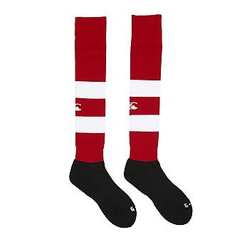 CCC hooped Team Sock [rot/weiß]