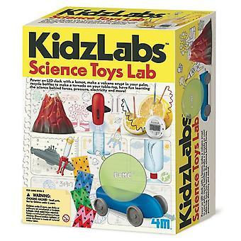Laboratório de brinquedos 4m Kidz Labs Sci