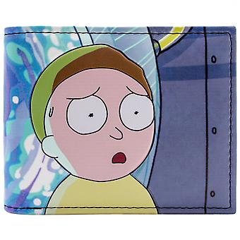 Rick & Morty Dimension Portal Problems ID & Card Bi-Fold Wallet