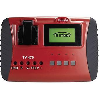 Test meter Testboy TV 470 Calibrated to DAkkS standards