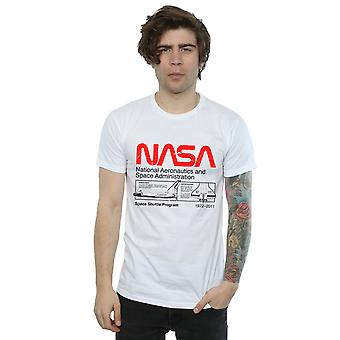 NASA Men's Classic Space Shuttle T-Shirt
