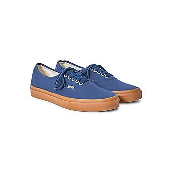 Vans Authentic Leinwand Leinenschuhe Navy