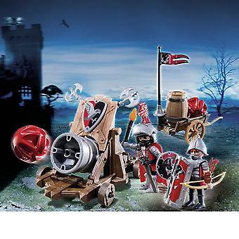 فرسان Playmobil هوك فرسان معركة مدفع