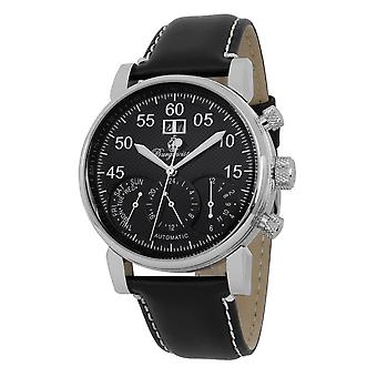 Burgmeister BM112-122 Montreal, Gents watch, Analogue display, Automatic with Citizen Movement - Water resistant, Stylish leather strap, Classic men's watch