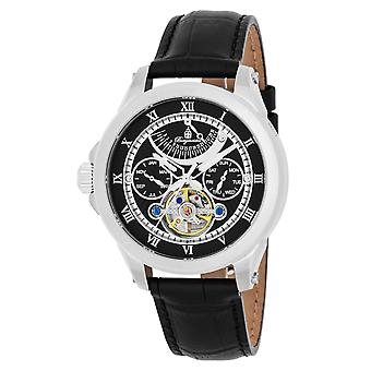 Burgmeister BM350-122 Colorado Springs, Gents automatic watch, Analogue display - Water resistant, Stylish leather strap, Classic men's watch