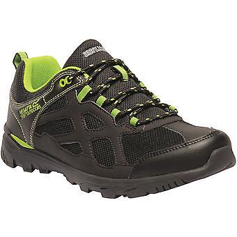 Regatta Mens Kota Crux Low Lightweight Breathable Mesh Nubuck Shoes