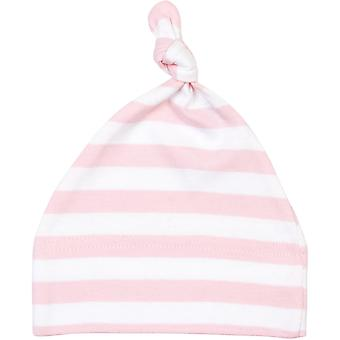 Babybugz Childrens Baby Stripy One Knot Hat