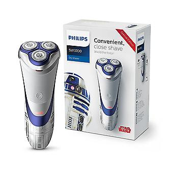 Philips Star Wars Special Edition R2D2 Men�s Electric Shaver (UK 2-Pin Bathroom Plug)