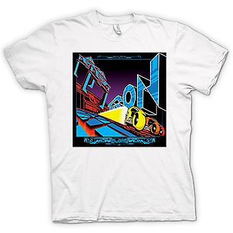 Mens T-shirt-Tron - Pop-Art - Cool B-Movie